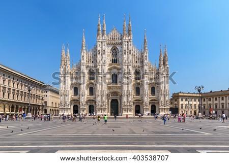 Milan Duomo, Milan, Italy