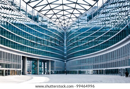 MILAN, ITALY - APRIL 6: Palazzo Lombardia in Milan on April 6, 2012, This building, inaugurated in March 2011, is Lombardy regional government seat and was designed by Pei Cobb Freed & Partners
