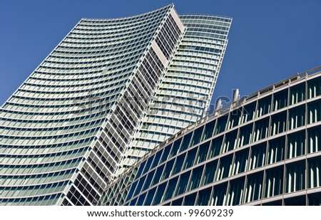 MILAN, ITALY - APRIL 6: Palazzo Lombardia in Milan on April 8, 2012, This building, inaugurated in March 2011, is Lombardy regional government seat and was designed by Pei Cobb Freed & Partners