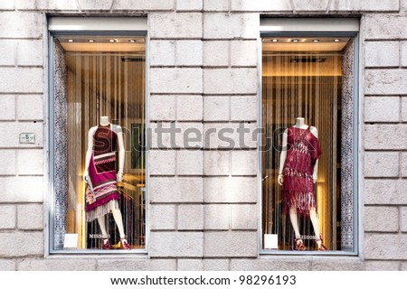 in Milan on March 23, 2012. Missoni is an Italian fashion house ...
