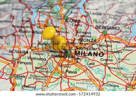 Milan Map Of Italy.Free Photos Milan Map Italy Avopix Com