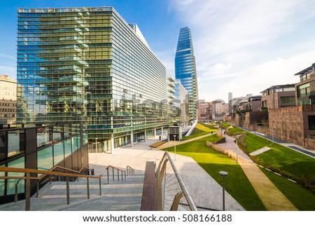 Milan Skyscrapers