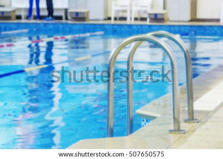 Swimming Pool Lanes Background free mild blurred background sports swimming pool. bath interior