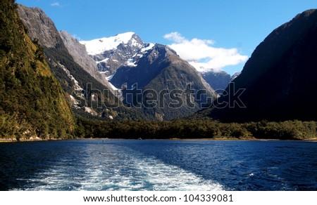 Milford Sound at Te Anau