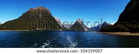 Milford Sound at Te Anau