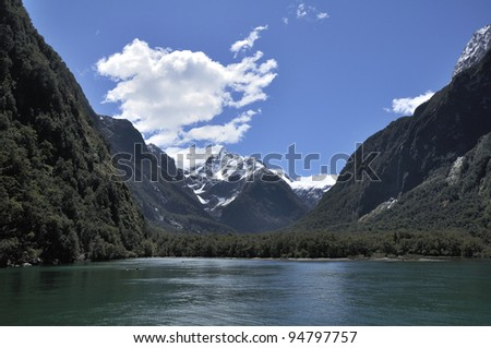 Milford sound, Fiord land National Park, New Zealand