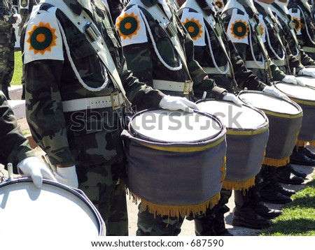 militar band 2 - some noise