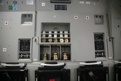 Military Aircraft C-17 Inside Panel