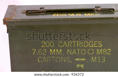 Military Ammunition Box