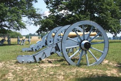 Military Cannons at Valley Forge