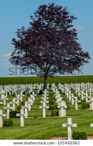 Military cemetery France Europe