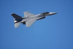 Military Jet Closeup