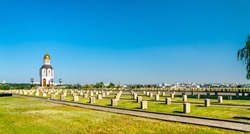Military memorial cemetery on Mamayev Kurgan in Volgograd, Russian Federation