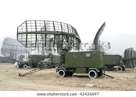 military mobile radar station in china