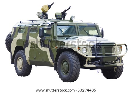 Military off-road car
