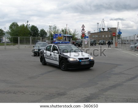Military police car