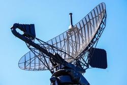 military radar air surveillance on navy ship