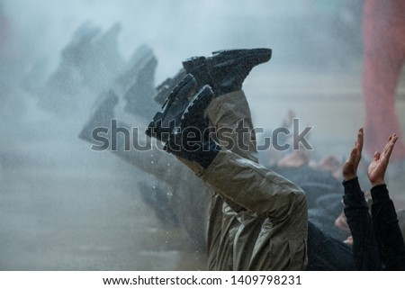 Military, strength endurance training, The endurance test of military training, commando, movement speed.