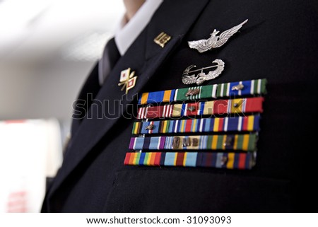 Military Uniform Officer