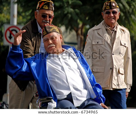 Military Veterans in Parade