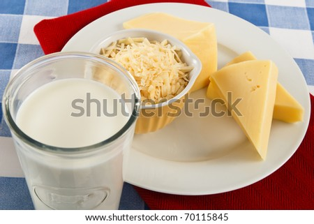 Milk and cheese can be a healthy snack or a dangerous food allergen.