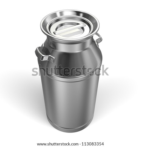 Milk Can Top View