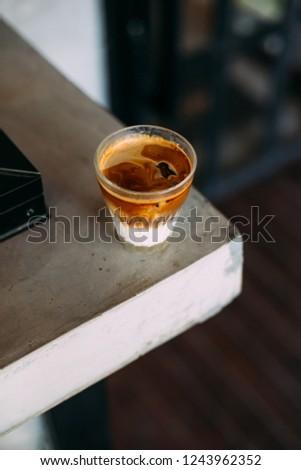 milk latte coffee latte art latte espresso  #1243962352