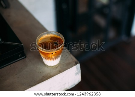 milk latte coffee latte art latte espresso  #1243962358