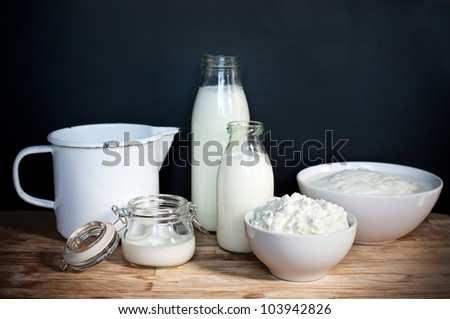 milk products, milky, white milky way