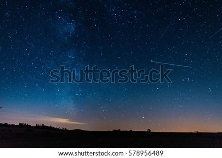 Milkiway and Stars #578956489
