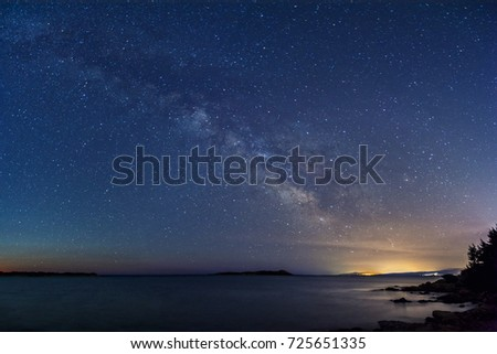 Milky way #725651335