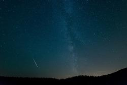 Milky Way above Croatia