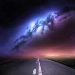 Milky Way Galaxy From Earth.