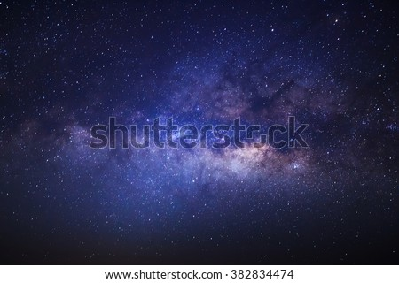 milky way galaxy with stars and ...
