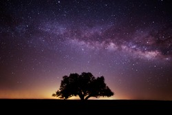 Milky Way over Ft. Griffin Texas