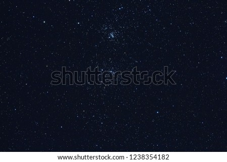 Milky Way stars photographed with astronomical telescope. My astronomy work. #1238354182