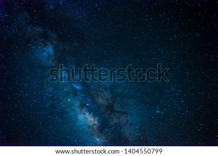 Milkyway and stars on Morocco Desert #1404550799