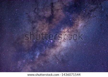 Milkyway Galaxy Stars Astronomy Night