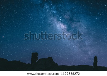 Milkyway in Tenerife, Spain astrophotography at night
