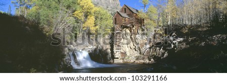 Mill at Crystal River Valley, Autumn, Colorado
