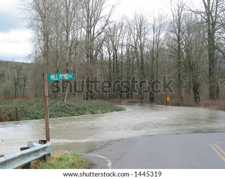Mill Pond Road Flood