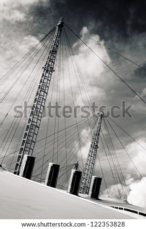 Millennium Dome Greenwich Peninsula, London England UK - stock photo