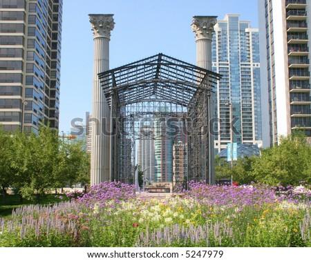 Millennium Park Chicago - stock photo