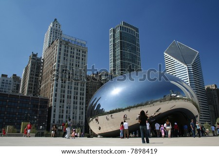 Millennium Park - Cloud Gate Sculpture