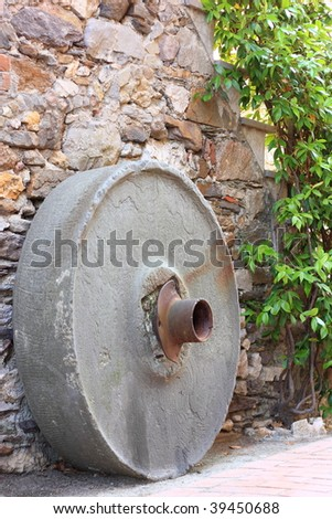 millstone in old country