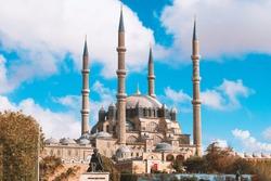 Mimar Sinan'ın ustalık eseri Edirne Selimiye Camii