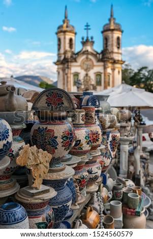 Minas Gerais Brazil Ouro Preto Pottery