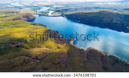 """Minas Gerais. """"Rio Grande"""". Furnas MG. Furnas canyons. Capitolio. Tourism in Minas Gerais. Beauties of Brazil."""
