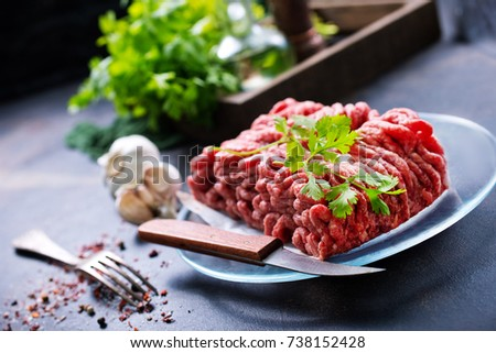 minced meat #738152428