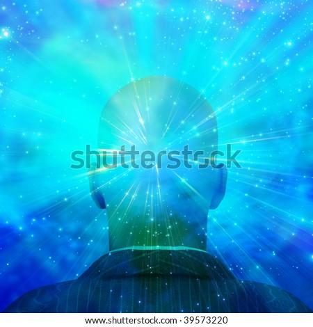 Mind of Light - stock photo